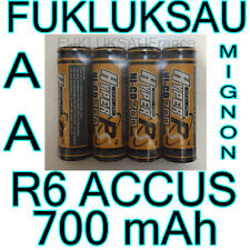 8 x PILES AA | PILES ACCUS RECHARGEABLE MIGNON 700mAh 1,2V R6 LR06 LR6 R06 NEW