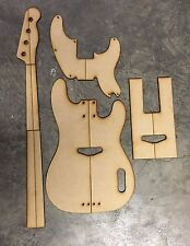 51 Precision Bass (Tele Bass) Luthier Routing/Building Templates