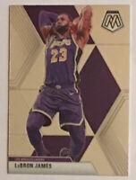 🔥LeBron James 2019-20 Panini Mosaic 🏀 Base Card #8~LA Lakers NBA Finals~🔥