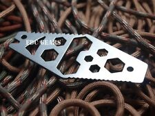EDC Gear Multi tool Hex wrench Bottle opener Pry bar Stainless steel Nail puller