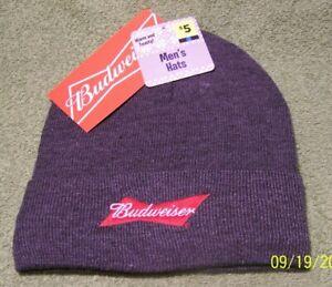 "NEW ""Budweiser"" Fashion Beanie HAT"