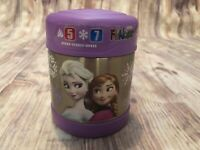 Thermos Funtainer Character Frozen Ana Elsa 10 oz Food Jar Purple Kids Lunch