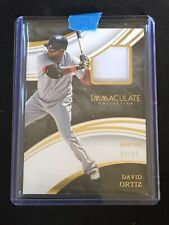 2016 Immaculate Baseball David Ortiz /99 Game Worn Jersey