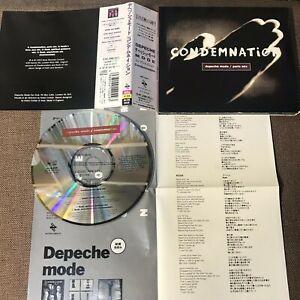 "DEPECHE MODE Condemnation JAPAN 5"" MAXI CD w/OBI+INSERT Digipack ALCB-848 FreeSH"