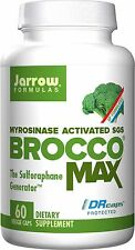 Jarrow Formulas BroccoMax® - 60 Delayed Release® Vegetarian Caps (Set of 4)
