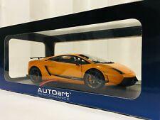 AUTOart 1/18 Lamborghini Gallardo LP570-4 Superleggera (Metallic Orange) 74656