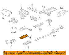 HONDA OEM 99-00 Accord 2.3L-L4-Catalytic Converter 18160PAAL20