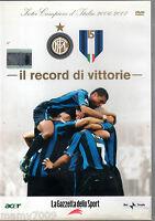 DVD=IL RECORD DI VITTORIE=INTER CAMPIONE.D'ITALIA 2006/07=VOLUME 1