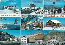 BOLZANO BOZEN STELVIO 44 STILFS PASSO - RIFUGI - VEDUTINE Cartolina viagg. 1973