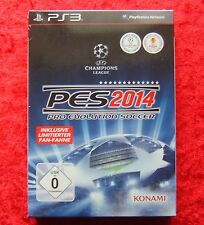 PES 2014 Pro Evolution Soccer 14, PlayStation 3 Spiel, Neu OVP, Limited Edition