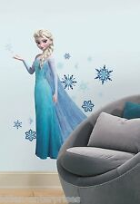 Disney's Frozen ELSA Peel and Stick Wall Decals Pack! 3.5ft Tall! NEW 2014