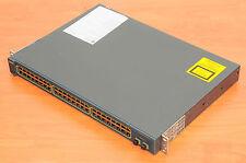 Cisco WS-C2950G-48-EI Switch 48 Ports 10/100 + 2 GBIC w/ Racks 6MthWtyTaxInv