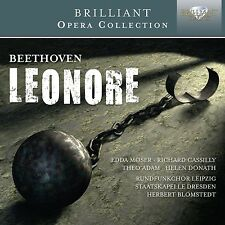 Moser/Adam/Donath/Blomstedt/SD/+ - Leonore 2 CD NUOVO Beethoven, Ludwig van
