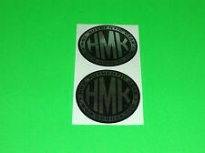 HMK USA .COM ATV SNOWMOBILE SLED SKIDOO POLARIS ARTIC CAT CHROME STICKERS DECALS