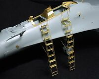 New 1/48 Russian Su-27UB&Su-30M Ladder Update Detail PE Etched For ACADEMY D2028