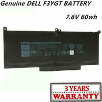 Genuine OEM F3YGT 2X39G Battery For DELL Latitude 12 7000 7280 7480 2X39G DM3WC