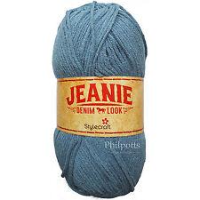 Stylecraft JEANIE DENIM LOOK ARAN Crochet & Knitting Yarn 100g *BUY 10 & SAVE 5%25