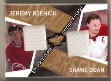 Jeremy Roenick / Shane Doan  2015 Exquisite Glass dual jersey PHOENIX