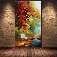 ZOPT173 abstract landscape 100% hand painted wall art OIL PAINTING ON CANVAS