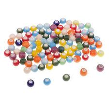 Weiße Lose Emaille Keramik Perlen spacer Perlen Beads Für Handwerk