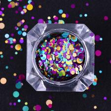 Nail Glitter Sequins Holographic Fluorescent Various Nail Art 3D Decors
