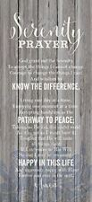 NEW Dexsa Serenity Prayer New Horizons Wood Plaque DX8803