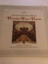 BACH WALCHA Praeludien Fugen Pastorale LP Archiv Rec 2533-160 US 1974 NM- 6F