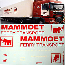 Volvo Fh12/daf XF with MAMMOET Ferry 1 24