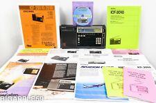 Sony ICF-2010 Shortwave Radio AM FM SSB CW Receiver w/ Documents **CLASSIC**