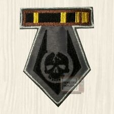 Replica Chest Overwatch Elite Soldier Embroidered Patch Half-life Skull Logo