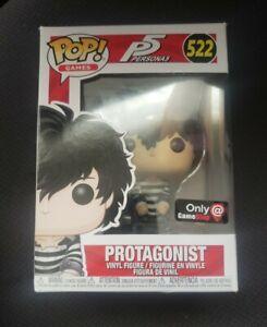 Funko Pop! Persona 5 P5 Protagonist Prison #522 Vinyl Figure GameStop Exclusive