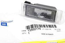 CORVETTE REAR LICENSE PLATE LAMP RIGHT PASSENGER OR LEFT DRIVER SIDE 13502179