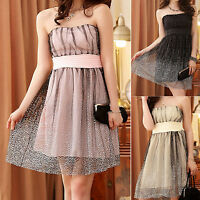 Womens Ladies Wedding Party Evening Cocktail Formal Dress Size 12 14 16 18 #1019