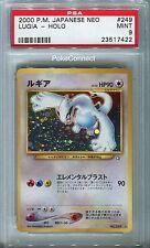 PSA 9 MINT Pokemon LUGIA Holo Rare Japanese Neo 1 Genesis #249