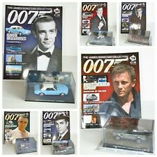 James Bond 007 Car Collection 1:43 Models Eaglemoss (Connery Moore Dalton Craig)