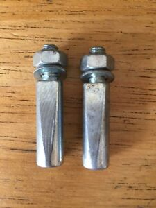 PAIR NOS/NEW Cotters 8mm 8.5mm 9mm 9.5mm Cotter Pins for Cottered Steel Cranks