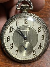 Jewels Good Working Order Antique Pocket Watch Waltham 17