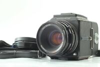 [EXC+5] Hasselblad 501C Black Planar CF 80mm F2.8 T* A12 type III From JAPAN