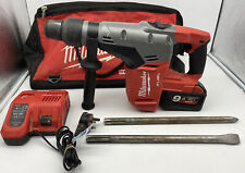 Milwaukee M18CHM Fuel SDS-Max 18V Hammer Drill & Battery + Extras FAST SHIPPING