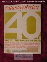 Saturday Review August 29 1964 ARNOLD TOYNBEE BUCKMINSTER FULLER ALLAN NEVINS