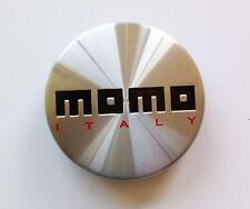 1 x MOMO cerchio centrale TAPPO WINPRO win2 EUROPA ARGENTO ITALIA 397k53 h2183