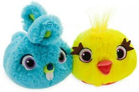 Disney Store Toy Story 4 Ducky & Bunny Slippers Childrens Size 6 - 7 Kids Fluffy