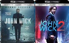 John Wick 1 and Chapter 2 (4K Ultra HD)(UHD)(Atmos)