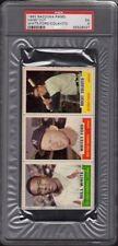 1962 (White-Ford-Colavito) Bazooka Panel Baseball Card Hand Cut Graded PSA 5 EX