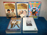 MORECAMBE & WISE x 5 VHS VIDEO BUNDLE - VERY BEST OF 1 & 2 MUSICAL EXTRAVAGANZAS