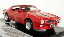 Motormax 1/24 Scale - 1973 Pontiac Firebird Trans Am Red Diecast model car