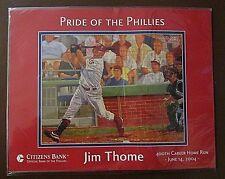 HOF Jim Thome Phillies SGA 2004 Commemorating his 400th carreer home run +ticket