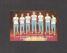 POCKET SCHEDULE: 1982-83 GIRLS BASKETBALL, MARK MORRIS HIGH SCHOOL, LONGVIEW, WA