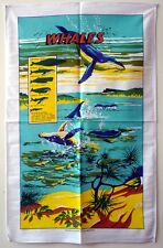 Tea Towel - Whales(The Size of Whales) - 100% Cotton