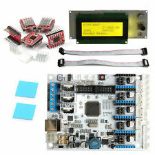 New Geeetech 3D Printer Kit GT2560 Controller board+LCD 2004+5pcs A4988 Driver